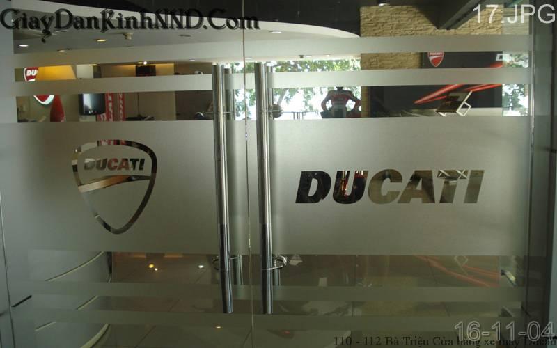 Cắt Chữ Decal, Cắt Logo âm bản dán kính văn phòng tại Hà Nội