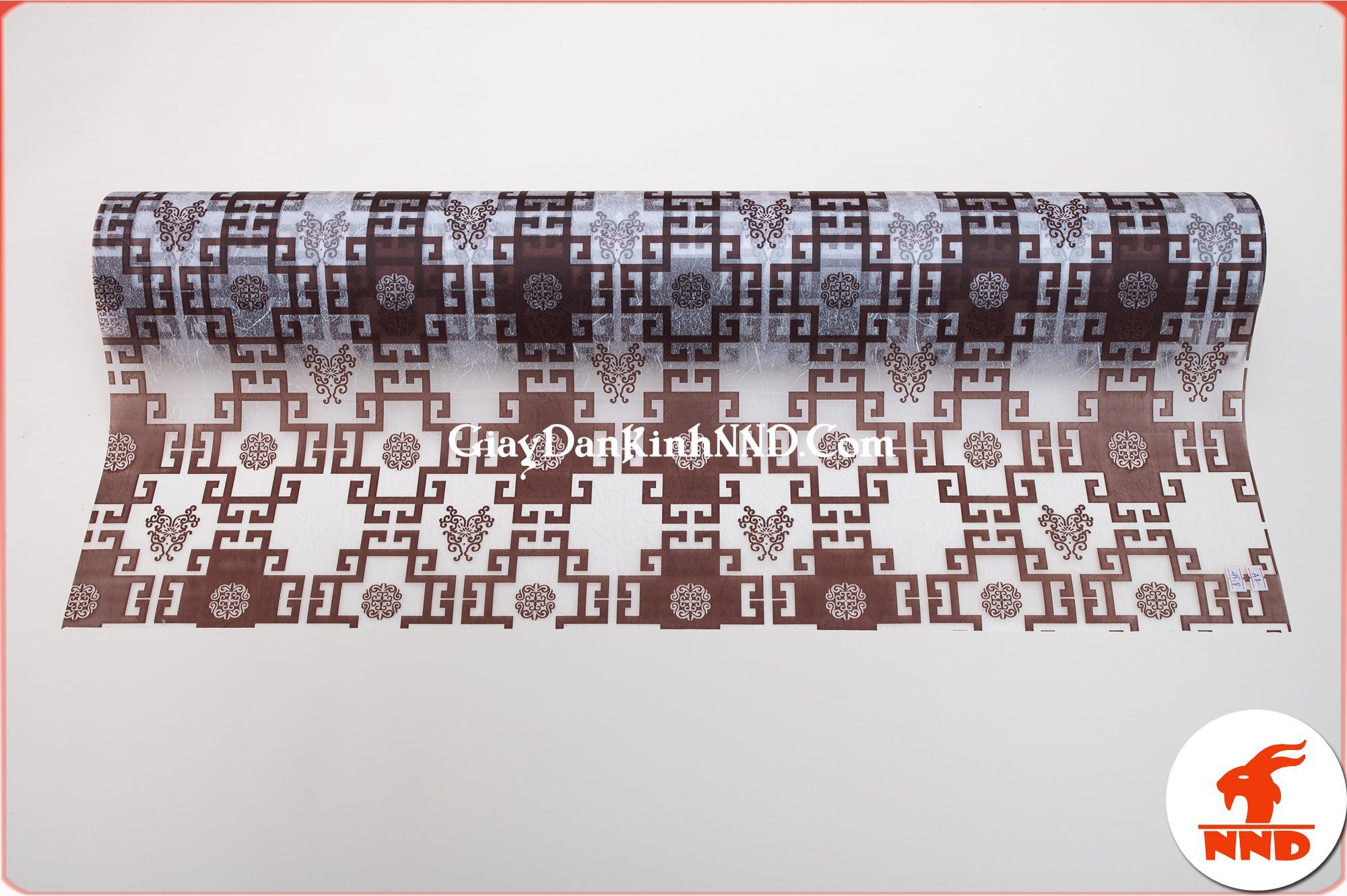 Mẫu giấy decal trang trí chữ thọ đen mã A07