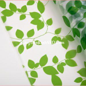 Giấy decal dán kính hình lá cây