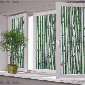Mang không gian xanh vào phòng với mẫu decal dán kính hình cây trúc già. Giấy dán kính trang trí hình cây trúc mang không gian xanh mát vào ngôi nhà của bạn