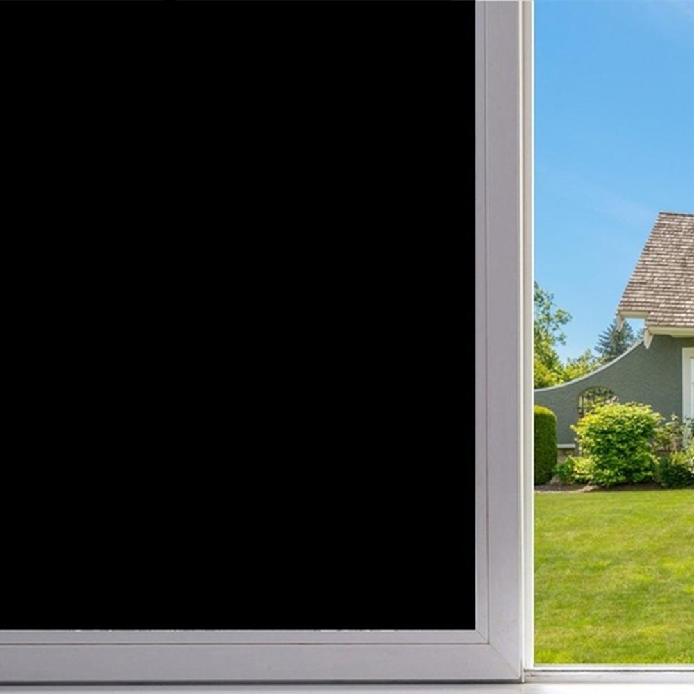 Decal dán kính màu đen với khả năng che ánh sáng và tầm nhìn gần như tuyệt đối