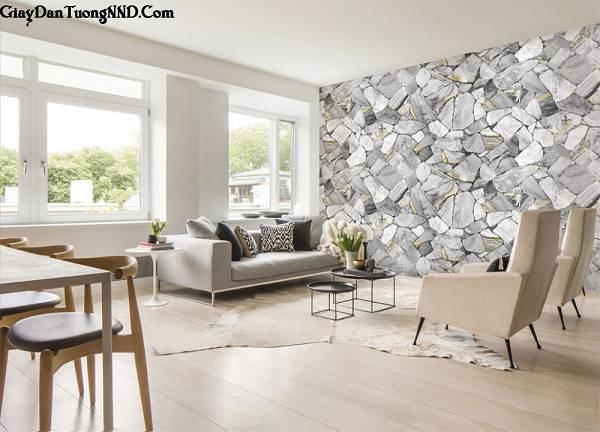 Giấy dán tường 3D trang trí cho không gian nhà đẹp