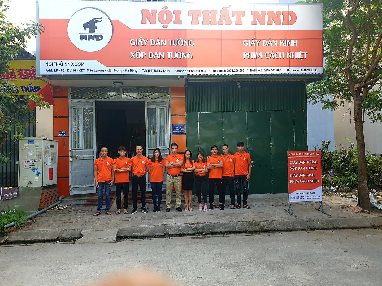 Công ty TNHH NND Viêt Nam hoạt động trong lĩnh vựcgiấy decal dán kínhtừ năm 2010, với nhiều đại lý khác nhau trên khắp Hà Nội và một vài tỉnh trong nước.