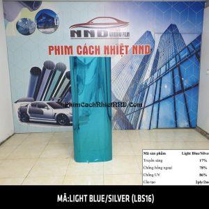 . Mã Phim cách nhiệt phản quang Light Blue Silver mã LBS16 thuộc nhóm phim cách nhiệt 3M cao cấp với độ bền chất lượng, cách nhiệt và các chỉ số vượt trội.