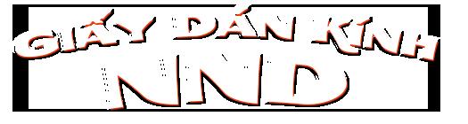 Logo Giấy Dán Kính NND