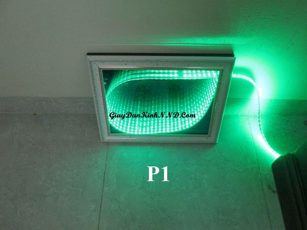 Kết quả làm đèn 3D bằng mã P1