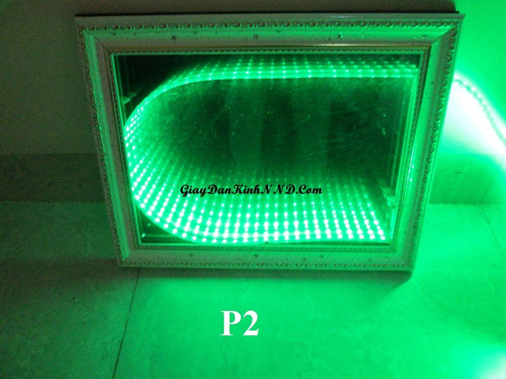 Kết quả làm đèn 3D bằng mã P2