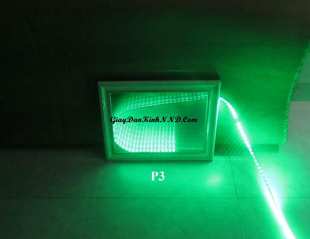 Kết quả làm đèn 3D bằng mã P3