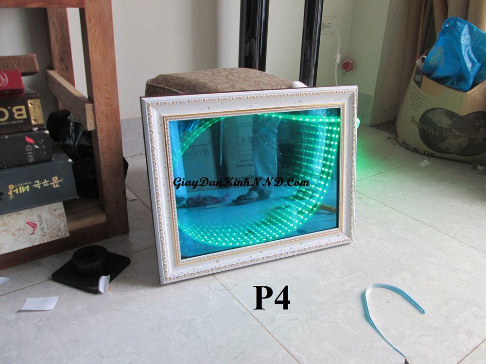 Kết quả làm đèn 3D bằng mã P4