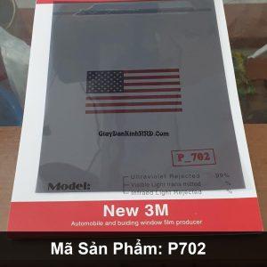 Nếu bạn đang cần tìm mẫu phim dán kính giá rẻ có độ truyền sáng cao màu sắc đẹp thì có thể tham khảo mã phimP702 của thương hiệu 3M Trung Quốc.