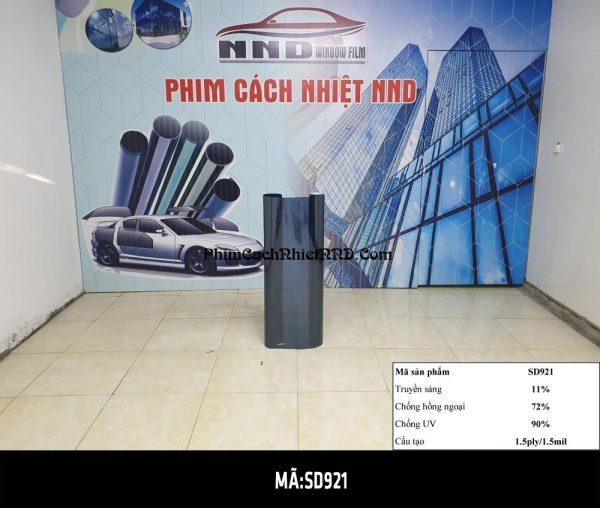 P1 hay SD901 là mã phim cách nhiệt phản quang màu đen ánh xanh giá rẻ rất được ưa chuộng