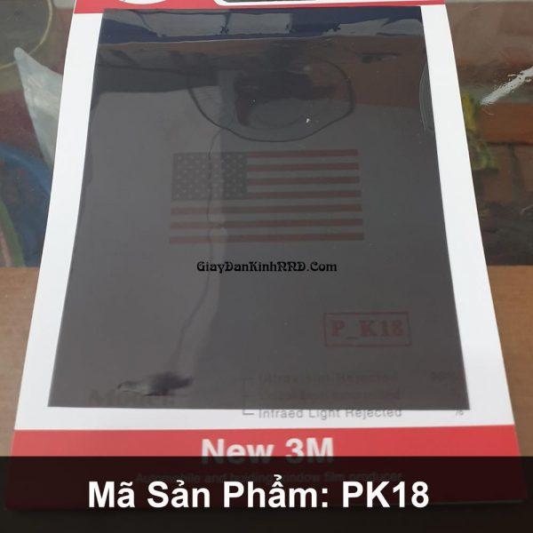 Nếu bạn đang cần tìm mẫu phim dán cách nhiệt giá rẻ có độ truyền sáng cao để dán kính nhà thì mã PK18 của thương hiệu phim cách nhiệt 3M Trung Quốc chính là lựa chọn tối ưu nhất cho các bạn