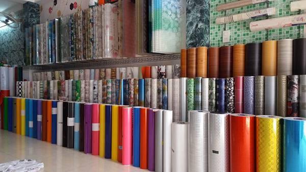 Các loại giấy dán kính thông dụng nhất hiện nay