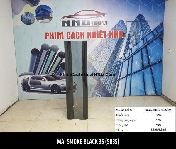 Smoke Black 35 là mã phim cách nhiệt thuộc nhóm giá rẻ với các chỉ số cơ bản khá thấp, tuy nhiên nếu các bạn đang có nhu cầu dán phim dán kính giá rẻ không phản quang công nghệ 3M thì đây chính là lựa chọn hoàn hảo cho các bạn.