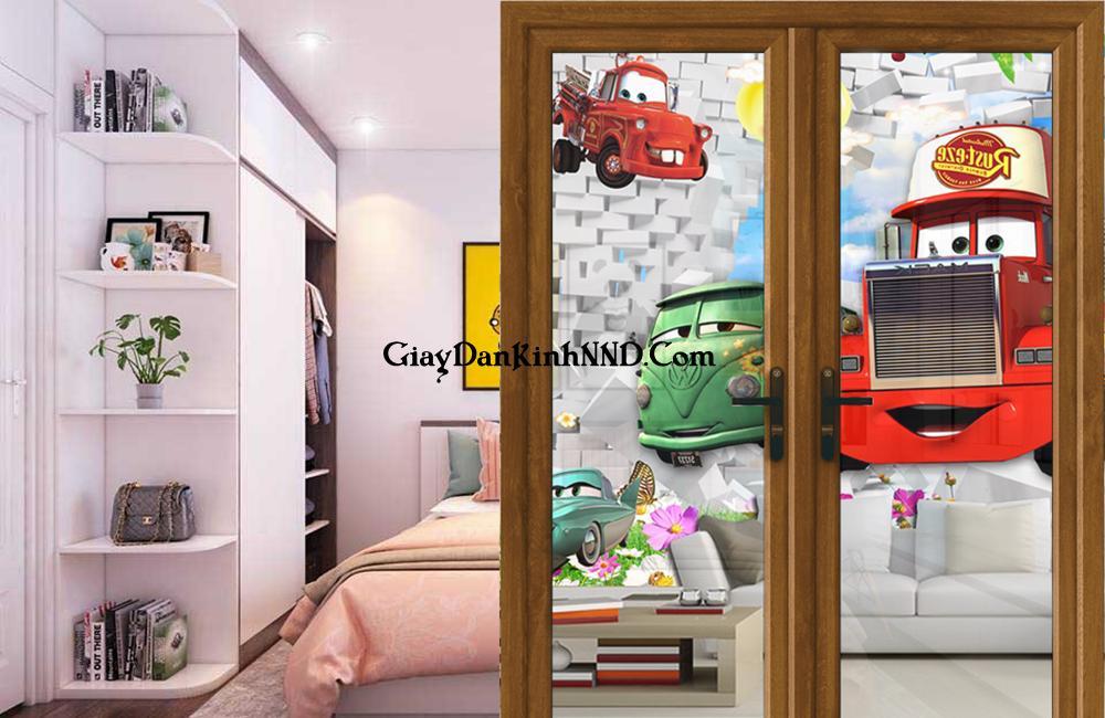Lợi ích khi thiết kế phòng dành cho trẻ em từ tranh dán kính