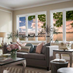 Các loại tranh dán kính 3D phong cảnh phù hợp với không gian gia đình