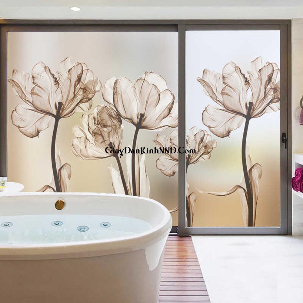 Điều cần thiết khi sử dụng tranh dán kính cho nhà tắm