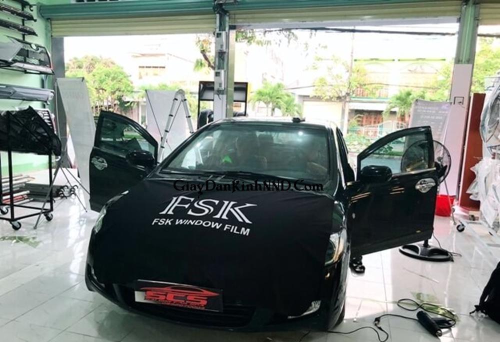 FSK là dòng phim chống nóng có nguồn gốc từ Nhật Bản, đây là sản phẩm của Tổng Công ty màng Cách nhiệt FSK