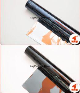 Phim dán kính chống nắng được chia thành 2 loại. Loại có phản quang và loại không phản quang.