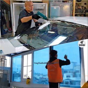 Phim cách nhiệt là vật liệu có cấu tạo dạng film polyester được dùng để dán lên kính với mục đích chống nắng nóng.