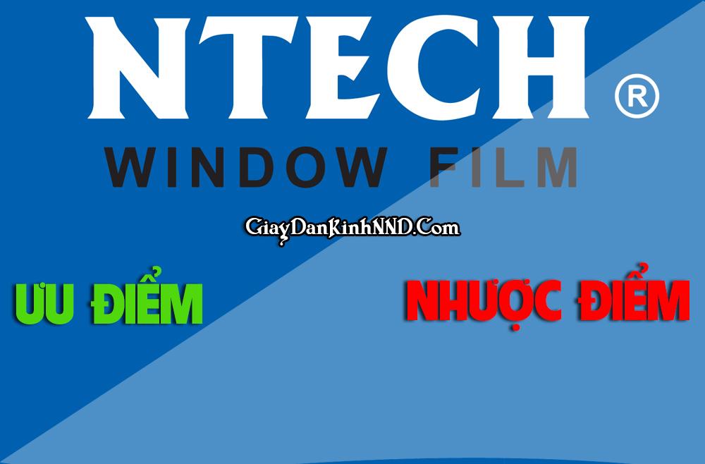 Ưu nhược điểm của film cách nhiệt NTech