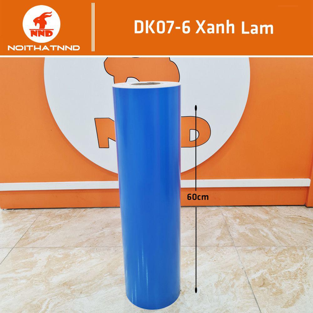 Dk07-6 là mẫu decal màu xanh lam, màu của nước biển màu của sự tinh khiết. Kiểu mẫu decal này rất được ưa chuộng hiện nay.