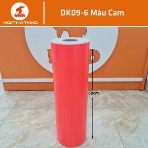 DK09-6 là mẫu decal màu hồng cam khổ 0.6m. Đây là mẫu khá kén người chọn.