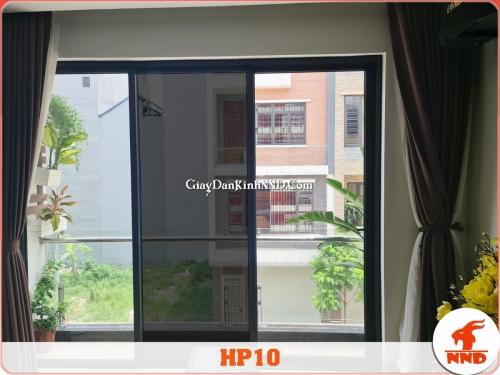 Ảnh thi công thực tế lên kính của sản phẩm phim cách nhiệt mã HP10