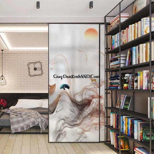 Hiện nay tranh dán kính 3D cho phòng ngủ đẹp cũng được các gia đình vô cùng ưa chuộng nhờ tính thẩm mỹ cùng những lợi ích về không gian, phong thủy nó mang lại