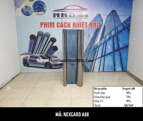 phim dán cách nhiệt của Hàn Quốc mã sản phẩm A88 thương hiệu Nexgard, sản phẩm được phân phối độc quyền bởi giấy dán kính NND tại Hà Nội