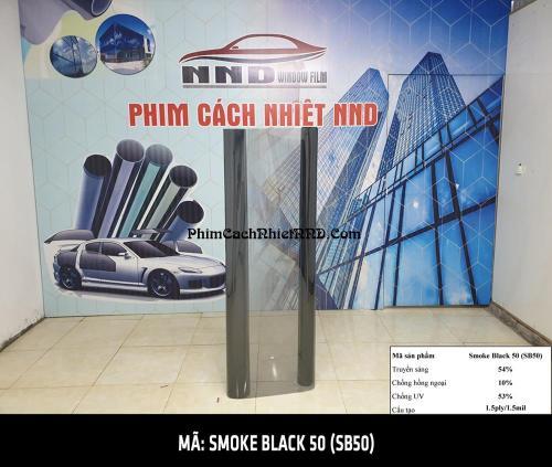 SB50 là mẫu phim cách nhiệt giá rẻ có màu trong với khả năng xuyên sáng cao, có thể sử dụng được đẻ dán kính lái xe hơi, mặt tiền showroom đảm bảo khả năng nhìn 2 chiều tốt.