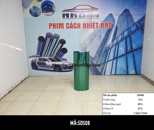 Phim Phản Quang Đài Loan mã P2 (SD508) là mẫu màu xanh lá cây ít được sử dụng vì màu đặc biệt và chỉ số không cao