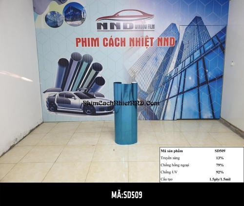 Phim Phản Quang Đài Loan mã P2 (SD509) là mẫu màu xanh dương có mức tiêu thụ lớn thứ 2 sau mã P1
